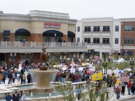 At the Fountain - Town Center - Va.Beach,VA.