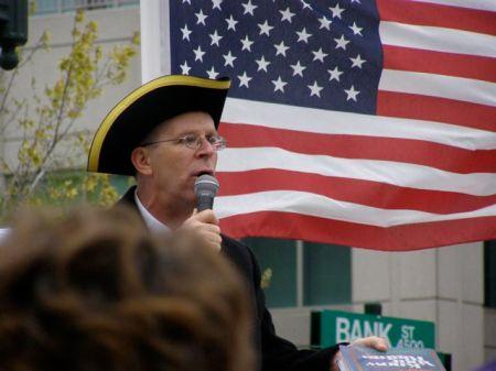 Reid Greenmun, Tidewater Libertarian Party Chairman